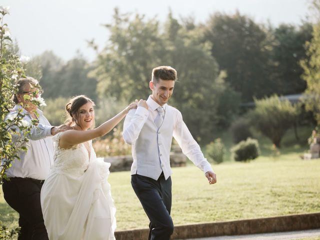 Il matrimonio di Dario e Sharon a Albese con Cassano, Como 256