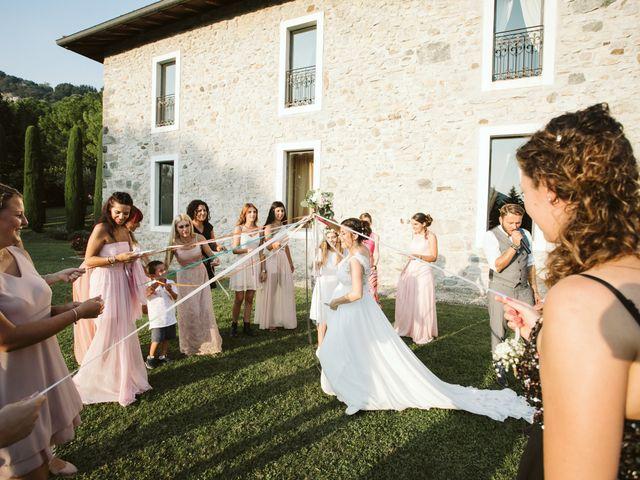 Il matrimonio di Dario e Sharon a Albese con Cassano, Como 260