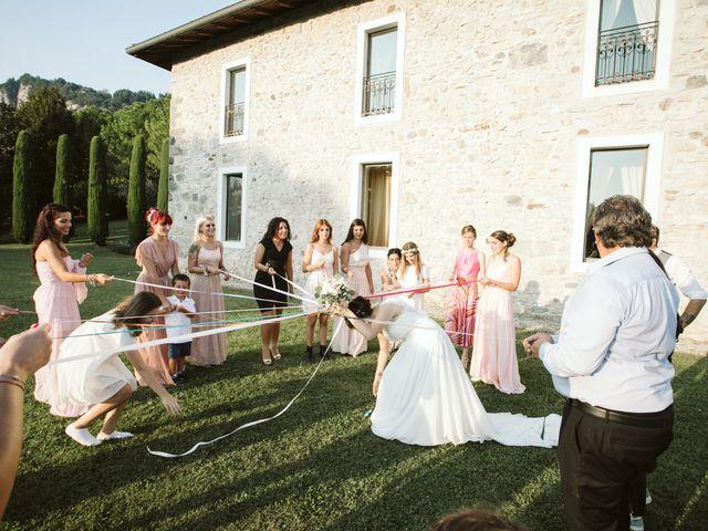 Il matrimonio di Dario e Sharon a Albese con Cassano, Como 261