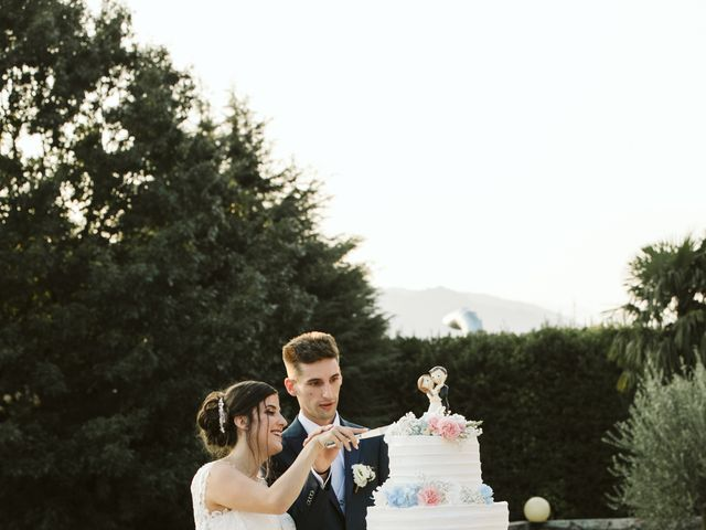 Il matrimonio di Dario e Sharon a Albese con Cassano, Como 285