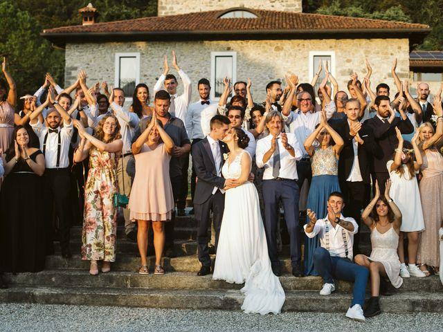 Il matrimonio di Dario e Sharon a Albese con Cassano, Como 293