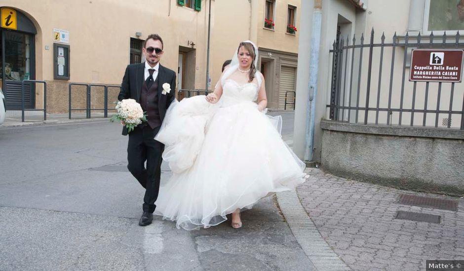 Il matrimonio di Riccardo e Loredana a Signa, Firenze