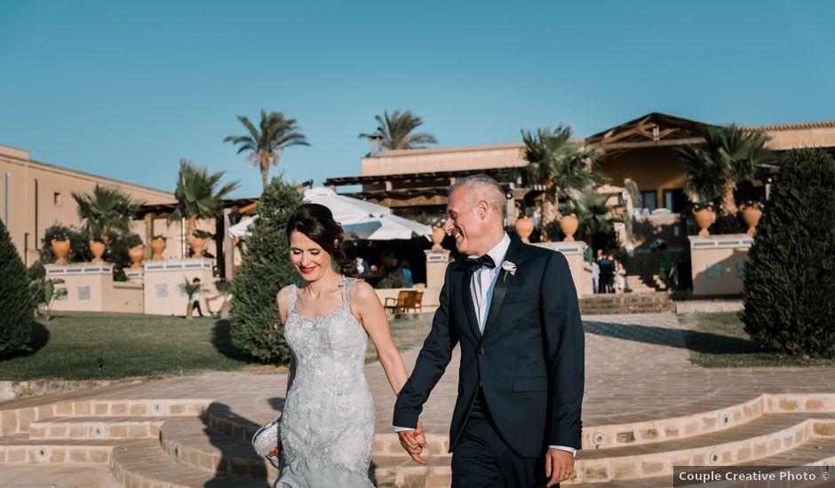 Il matrimonio di Alessandro e Maruska a Marsala, Trapani