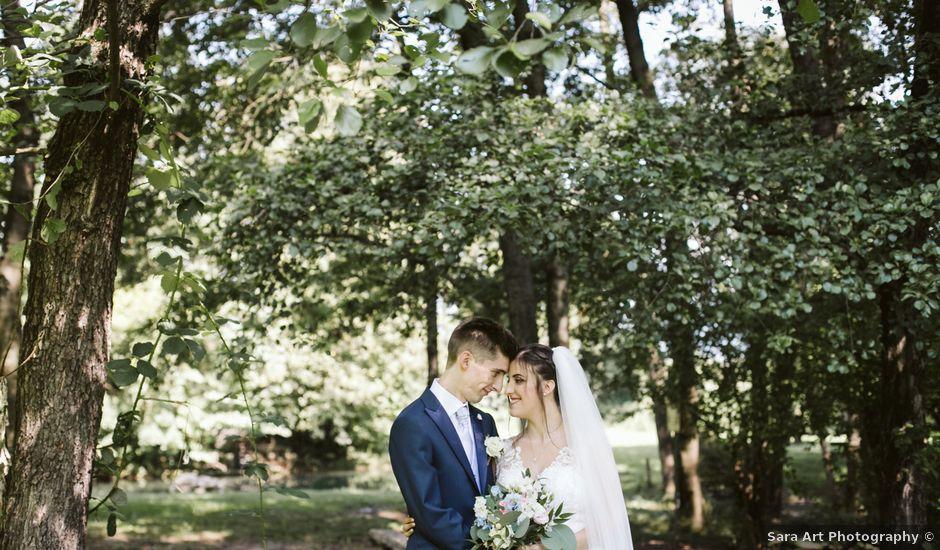 Il matrimonio di Dario e Sharon a Albese con Cassano, Como