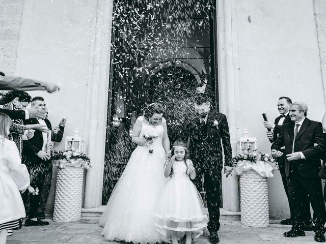 le nozze di Gessica e Angelo