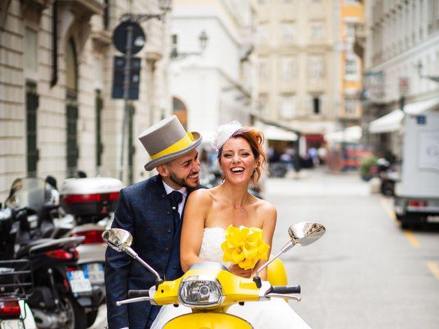 Il matrimonio di Davide e Brunella a Trieste, Trieste 20