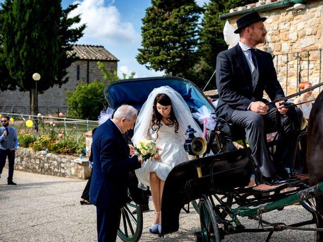 Il matrimonio di Adriano e Chiara a Castelfiorentino, Firenze 39
