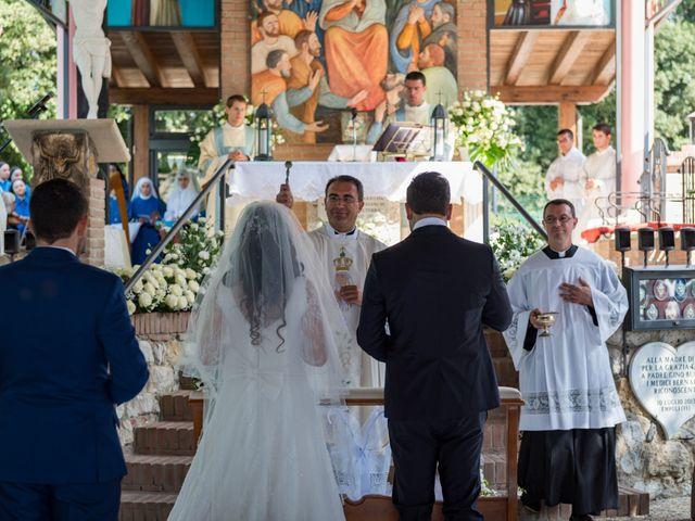 Il matrimonio di Adriano e Chiara a Castelfiorentino, Firenze 47
