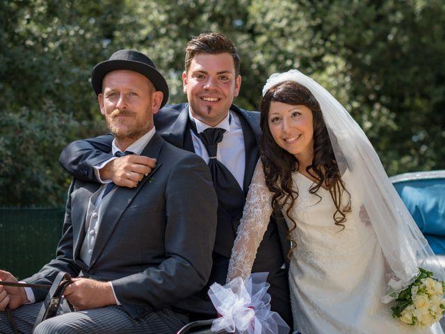 Il matrimonio di Adriano e Chiara a Castelfiorentino, Firenze 65