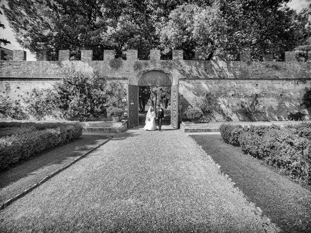 Il matrimonio di Adriano e Chiara a Castelfiorentino, Firenze 68