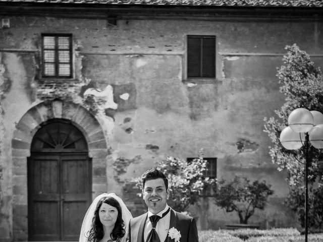 Il matrimonio di Adriano e Chiara a Castelfiorentino, Firenze 69