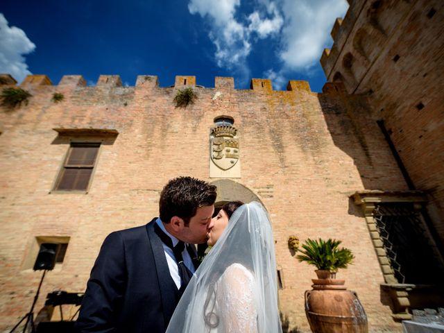 Il matrimonio di Adriano e Chiara a Castelfiorentino, Firenze 70