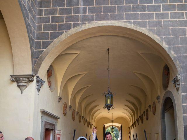Il matrimonio di Adriano e Chiara a Castelfiorentino, Firenze 71