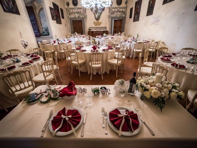 Il matrimonio di Adriano e Chiara a Castelfiorentino, Firenze 78