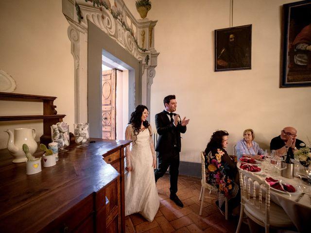 Il matrimonio di Adriano e Chiara a Castelfiorentino, Firenze 82