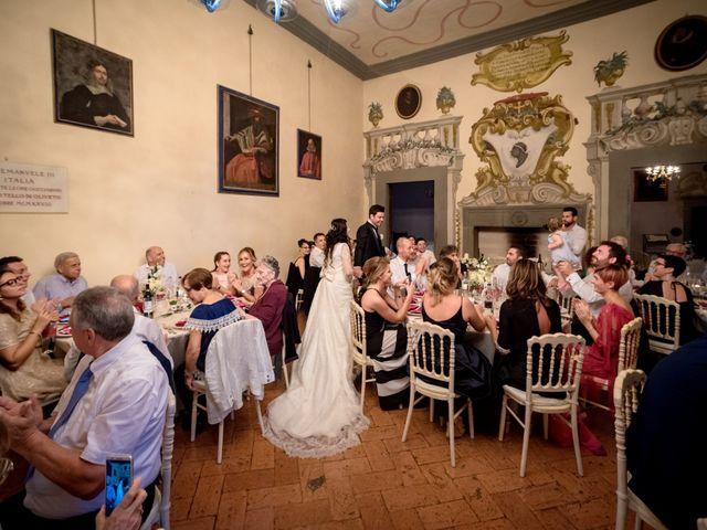Il matrimonio di Adriano e Chiara a Castelfiorentino, Firenze 83