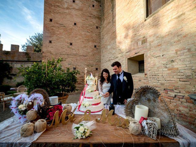 Il matrimonio di Adriano e Chiara a Castelfiorentino, Firenze 90