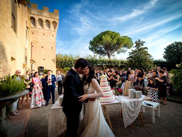 Il matrimonio di Adriano e Chiara a Castelfiorentino, Firenze 93