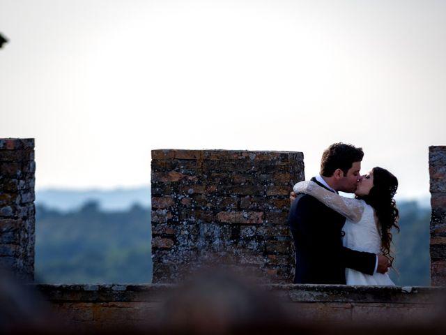 Il matrimonio di Adriano e Chiara a Castelfiorentino, Firenze 101