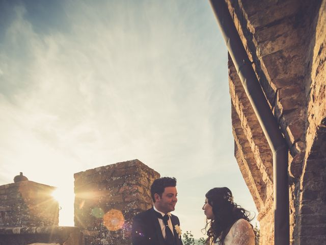 Il matrimonio di Adriano e Chiara a Castelfiorentino, Firenze 106