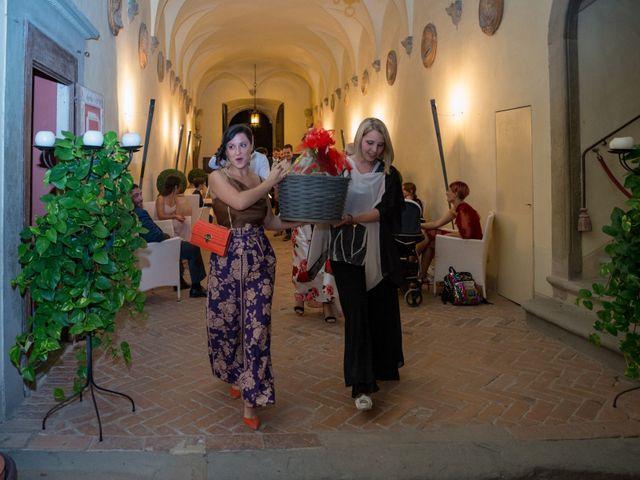 Il matrimonio di Adriano e Chiara a Castelfiorentino, Firenze 109