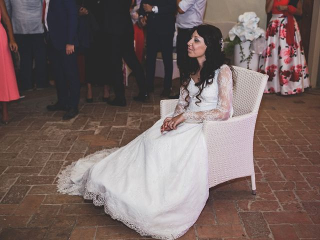 Il matrimonio di Adriano e Chiara a Castelfiorentino, Firenze 112