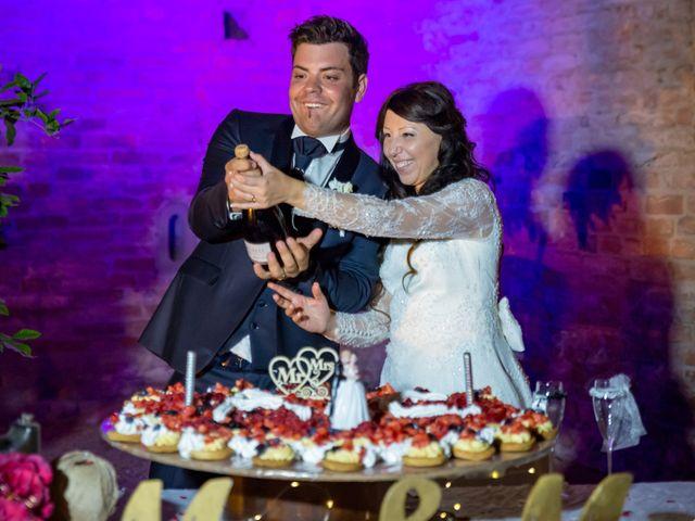Il matrimonio di Adriano e Chiara a Castelfiorentino, Firenze 120