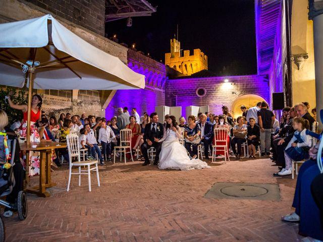 Il matrimonio di Adriano e Chiara a Castelfiorentino, Firenze 122