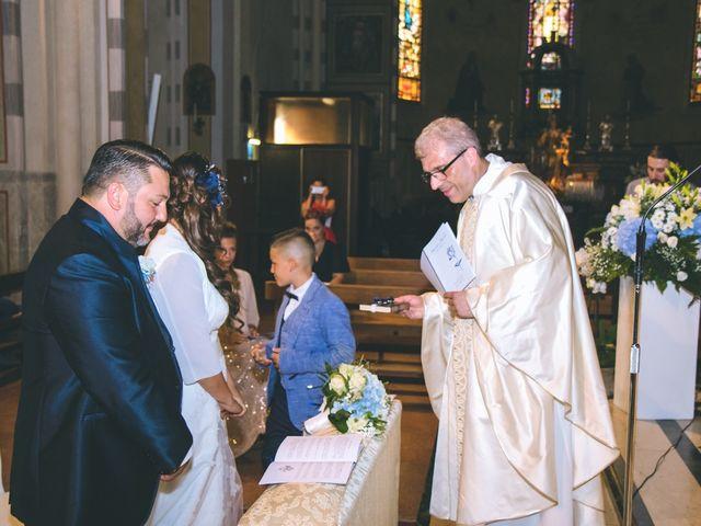 Il matrimonio di Alessandro e Alessandra a Cardano al Campo, Varese 95