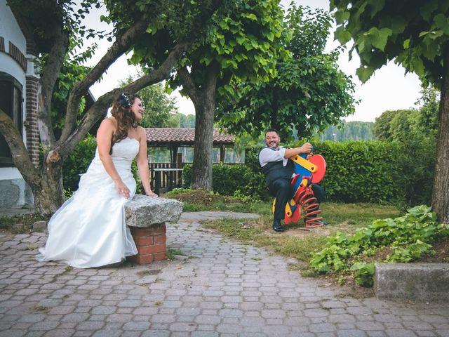 Il matrimonio di Alessandro e Alessandra a Cardano al Campo, Varese 1