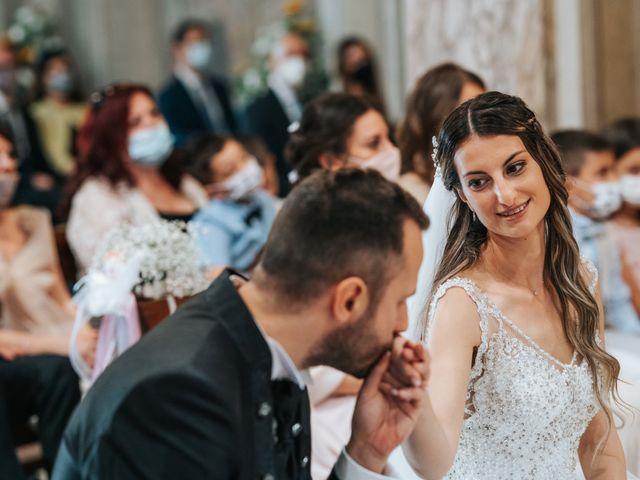 Il matrimonio di Debora e Enrico a Olcenengo, Vercelli 26