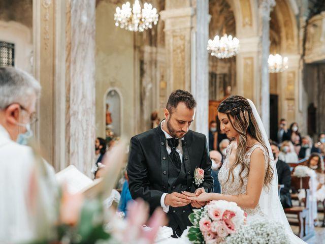 Il matrimonio di Debora e Enrico a Olcenengo, Vercelli 27