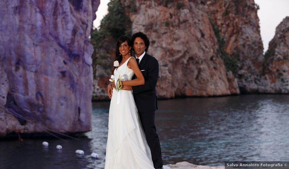 Il matrimonio di Franco e Claudia a Castellammare del Golfo, Trapani