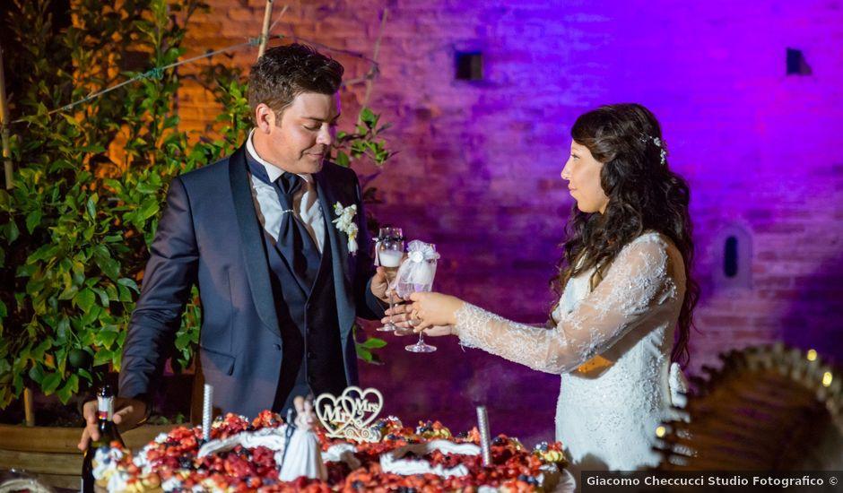 Il matrimonio di Adriano e Chiara a Castelfiorentino, Firenze