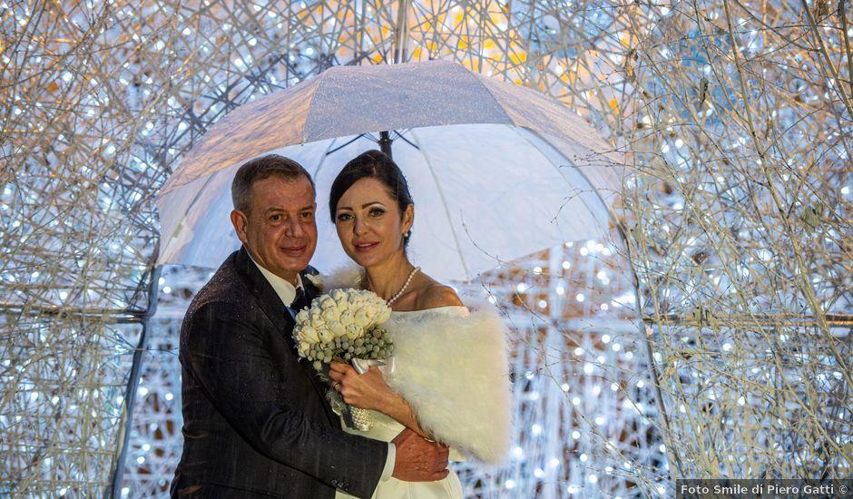 Il matrimonio di Orlando e Urszula a Stresa, Verbania
