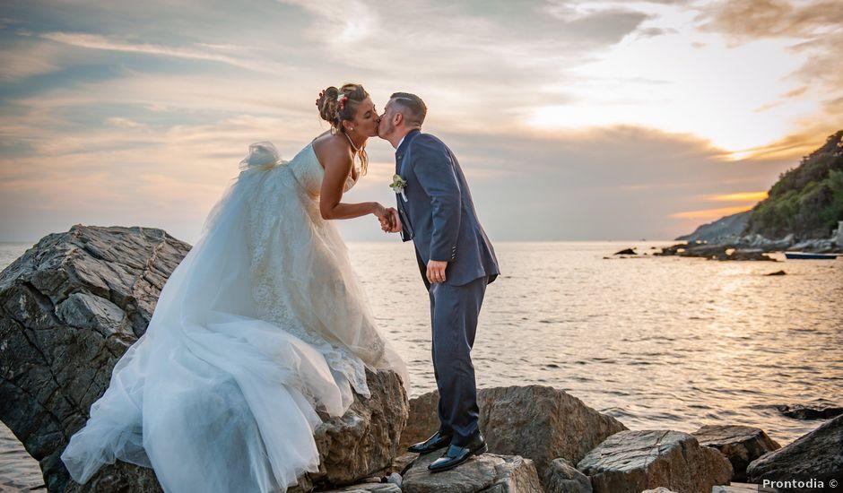 Il matrimonio di Riccardo e Silvia a Pisa, Pisa
