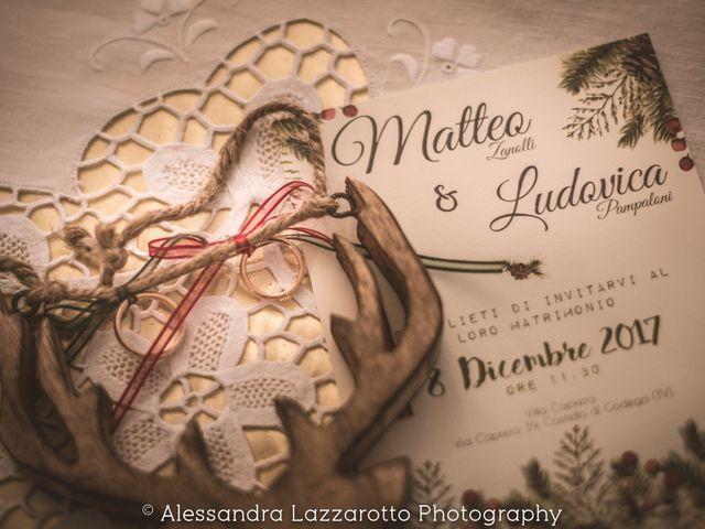 Il matrimonio di Matteo e Ludovica a Castello di Godego, Treviso 1
