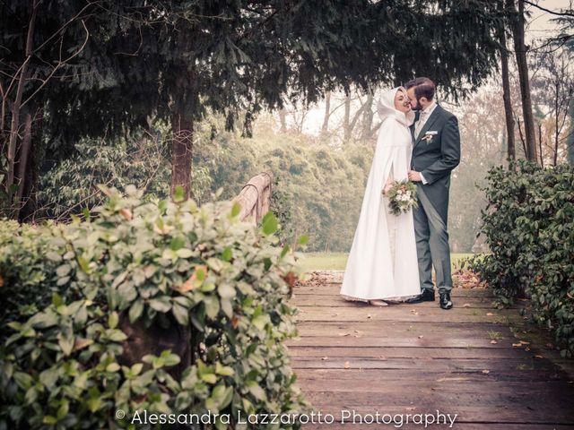 Il matrimonio di Matteo e Ludovica a Castello di Godego, Treviso 31