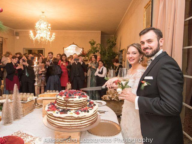Il matrimonio di Matteo e Ludovica a Castello di Godego, Treviso 37