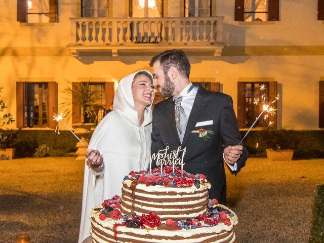Il matrimonio di Matteo e Ludovica a Castello di Godego, Treviso 38