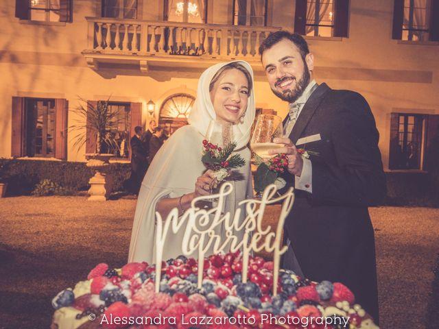 Il matrimonio di Matteo e Ludovica a Castello di Godego, Treviso 39