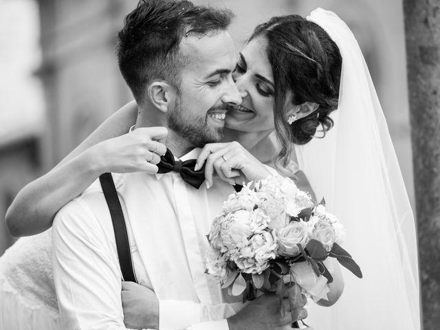 Il matrimonio di Daniele e Alessandra a Viterbo, Viterbo 48