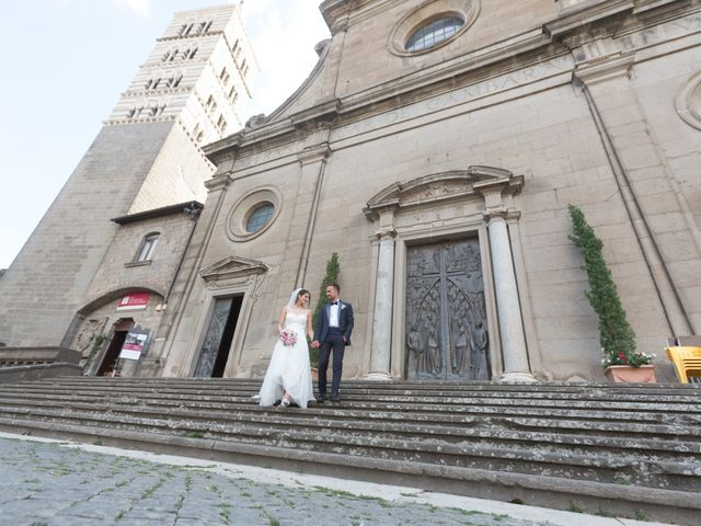 Il matrimonio di Daniele e Alessandra a Viterbo, Viterbo 92