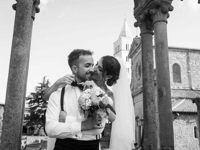 Il matrimonio di Daniele e Alessandra a Viterbo, Viterbo 97