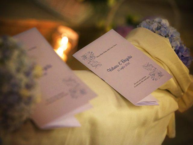 Il matrimonio di Valerio e Brigida a Grottaferrata, Roma 8