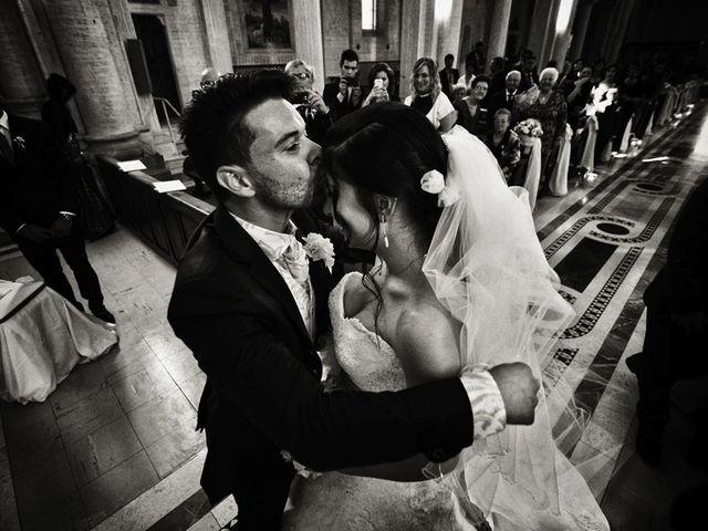Il matrimonio di Valerio e Brigida a Grottaferrata, Roma 9