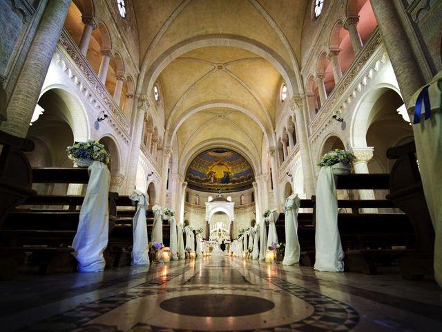 Il matrimonio di Valerio e Brigida a Grottaferrata, Roma 10