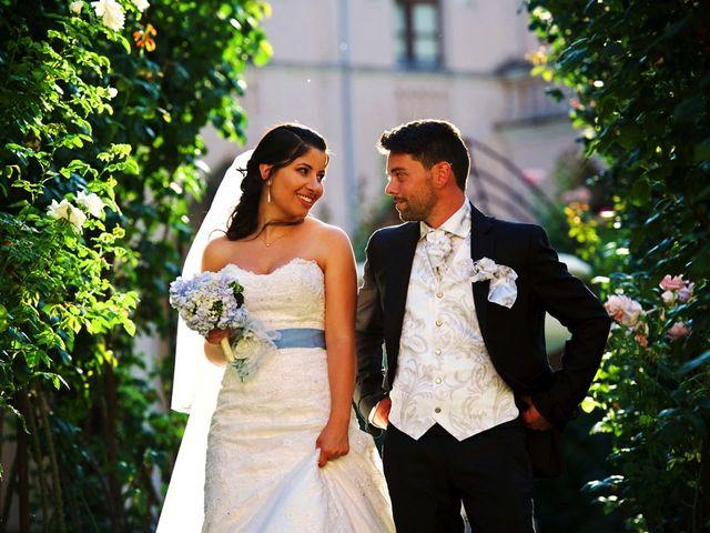 Il matrimonio di Valerio e Brigida a Grottaferrata, Roma 13