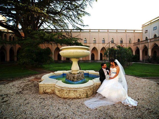 Il matrimonio di Valerio e Brigida a Grottaferrata, Roma 14
