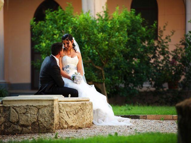 Il matrimonio di Valerio e Brigida a Grottaferrata, Roma 15